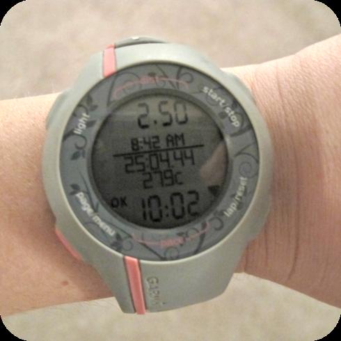 10:00 min/mile!