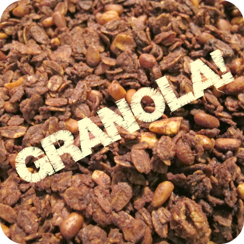 PB Dark Chocolate Granola