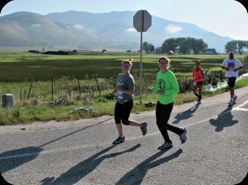 Ogden Marathon with Jill