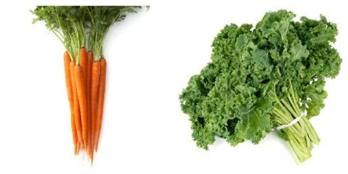 Carrots + Kale
