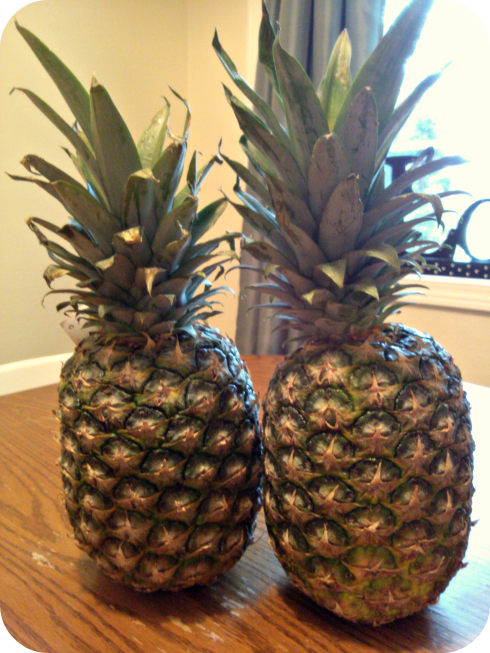 Apparently pineapples contain bromelain, an enzyme that can soften the cervix.